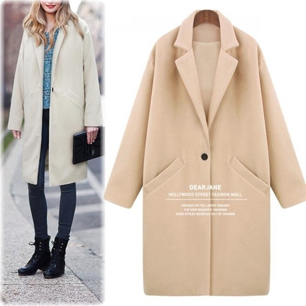 ポケットロングウィンターコートM3882 new 女性のコート/ 韓国ファッション/ジャケット/秋冬/レディース/ハーフ/ロング/