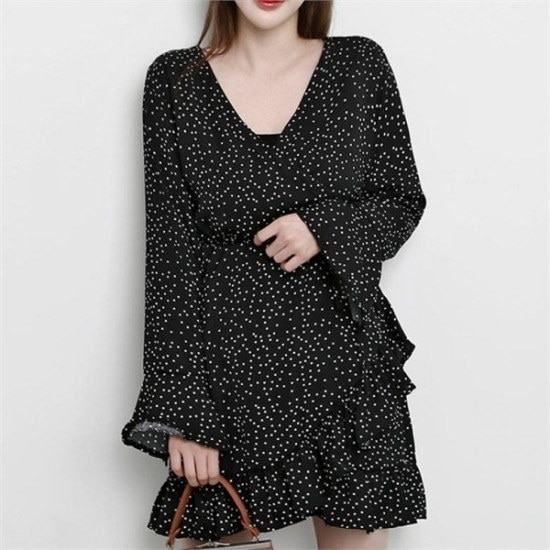 【22XX] [行き来/ 22XX]イットドットワンピース 塔/袖なしのワンピース/ 韓国ファッション