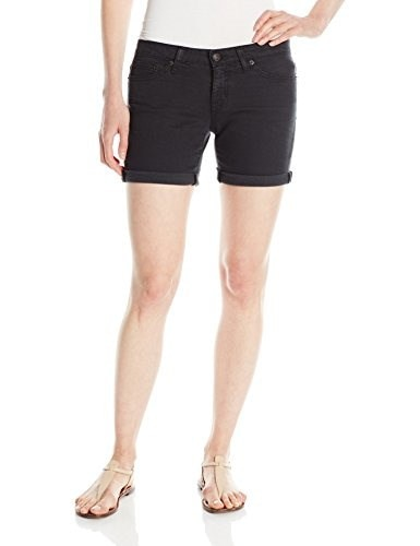 Big Star Womens Remy Low Rise Short In Summer Black, Summer Black, 24