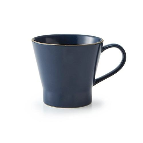 マグカップ エッジライン 10cm×13.5cm×H9cm ネイビー
