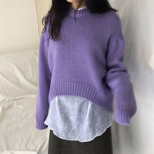 [ラルム】ベアニット3col korea fashion style