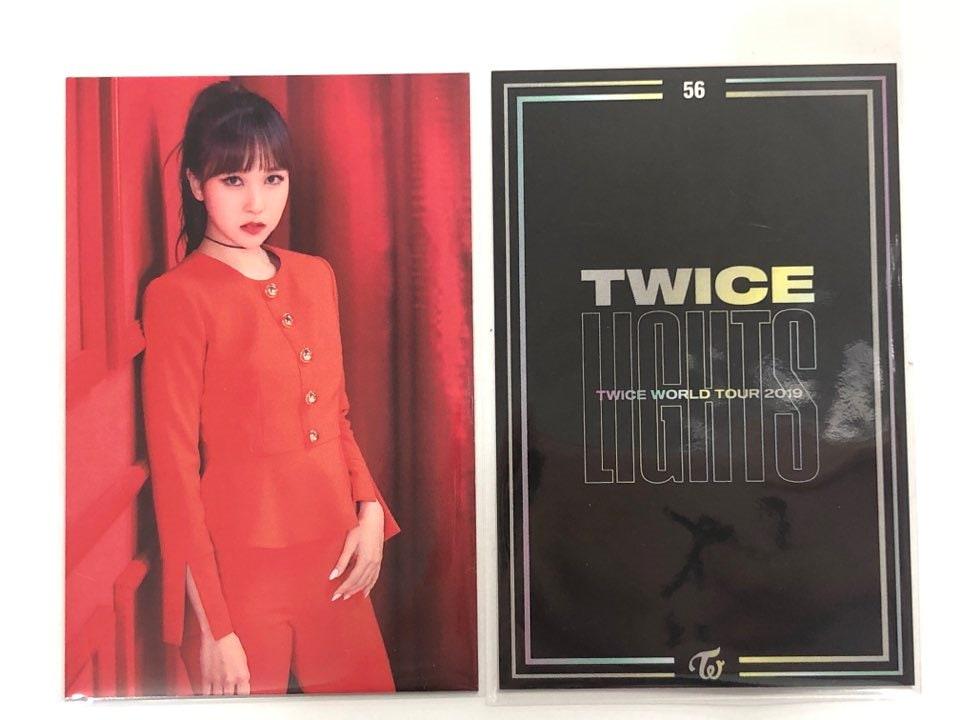 【ばら売り・即日】 TWICE LIGHTS 公式 トレーディングカード 【 NO.56 】
