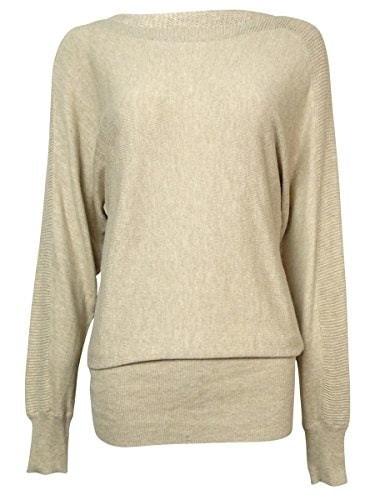 Alfani Dolman-Sleeve Boat-Neck Sweater Size 1X