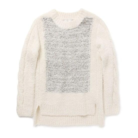 ペノムJOABOUCLE KNIT TOPP156MSW010W ニット/セーター/韓国ファッション