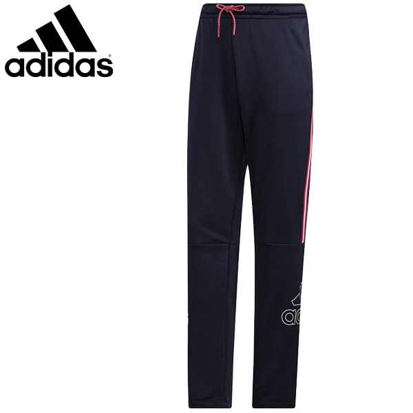 スウェットパンツ レディース アディダス adidas Must Haves Badge of Sport/スポーツウェア スエット トラックパンツ 紺 ネイビー 家トレ/IXK78-GF700