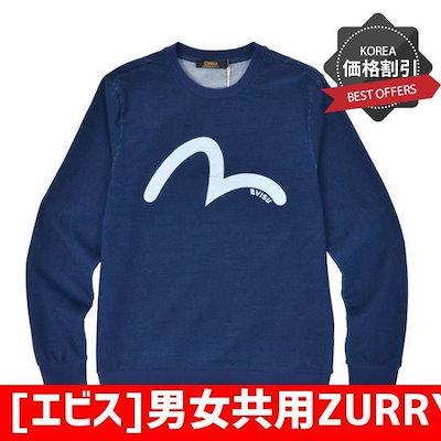 [エビス]男女共用ZURRYマンツーマン(EQ1UTS312ID) /マンツーマン/フードティー/ Tシャツ/韓国ファッション