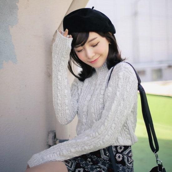 キュニゴルス、君を見ることができたら、ポーラ・ニットティー ニット/セーター/ニット/韓国ファッション