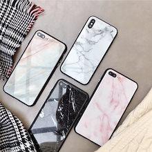 ミラー 黒ふち大理石 ユニセックス iPhoneケース 送料無料 iPhone6/6s iPhone6plus/6splus iPhone7/8 iPhone7plus/8plus iPhoneX