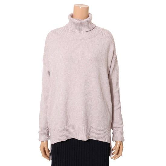 ・ねボックス、ポーラDH8WKP01 ロングニット/ルーズフィット/セーター/韓国ファッション