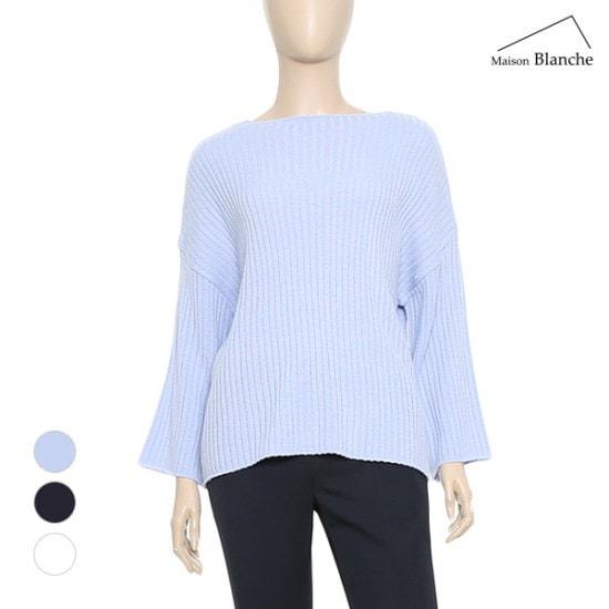 メゾンブルランスィベーシックラウンドセーターM171USW202 ニット/セーター/韓国ファッション