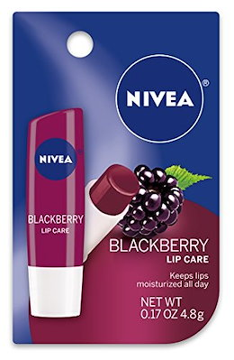 Nivea Lip Care, Blackberry, 0.17 Ounce (Pack of 48)