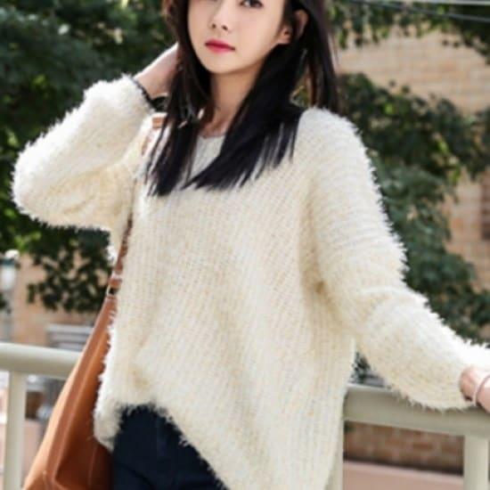 三女子モール三女子モールパルサーブイネク・ニットシャツGHS10722 ニット/セーター/ニット/韓国ファッション