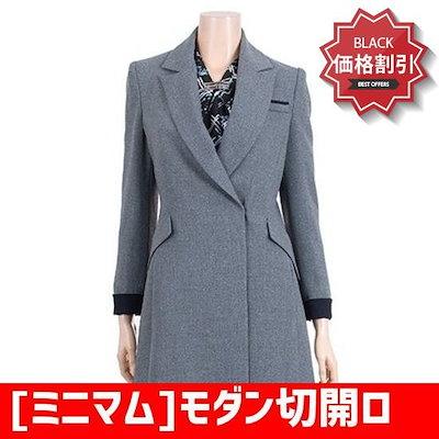 [ミニマム]モダン切開ロングジャケットMRDAWJ9170 /テーラードジャケット/ 韓国ファッション
