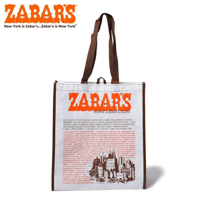 ゼイバーズ ZABAR'S バッグ エコバッグ ラージ