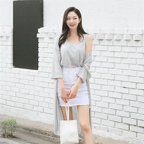ソムティンカディゴンSET5599の可能ラウンドナシタプロングカディゴンカディゴンセットnew 女性ニット/カーディガン/韓国ファッション