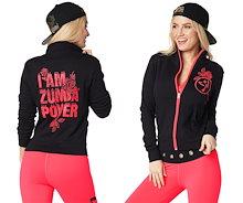 新着アイテム ZUMBA (ズンバ) 女性用コート、スポーツウェア シャツフィットネスウェア ダンスウェア ヨガウェア トレーニングウェアZUMBA LOVE ZU1543
