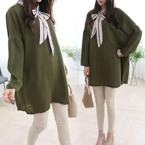 Meissy Jamel Ribbon BL korean fashion style