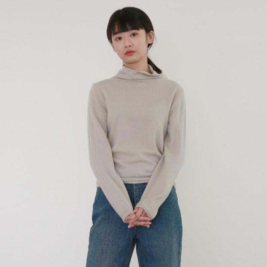 デイリー・マンデーWool cosy turtleneck knitニート ニット/セーター/タートルネック/ポーラーニット/韓国ファッション