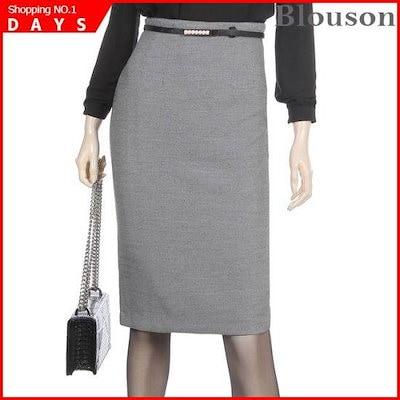 [ブルルジョン]オフィスHラインスリムスカート[B1901SK004A] /スカート/Hラインスカート/ 韓国ファッション