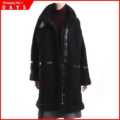 [パプリカ]ウールのデニムジャンパーN84FUC10 /ロングコート/コート/韓国ファッション
