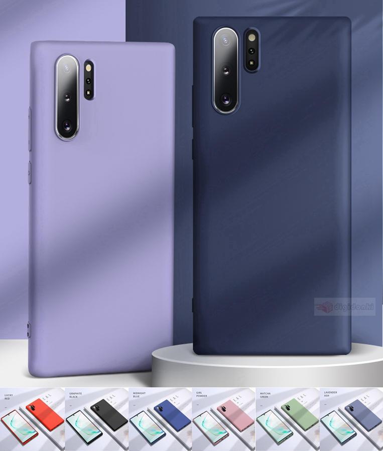 質感溢れる Samsung Galaxy Note10+SCV45 au/SC-01M docomo シリコン保護カバー無地保護ケース可愛いソフト柔軟性カバー極薄背面保護耐衝撃TPUケース【F601】