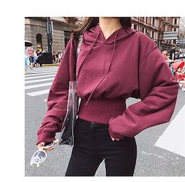 💛 韓国ファッション カップル 2018新 プリントフード付き ジャケット パーカー