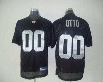 Raiders #0 Jim Otto Black Stitched cheap Jersey
