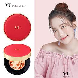 【VT Cosmetics】 VT Berry Collagen Pact|VTコラーゲンファクト|ベリーコラーゲンファクト|韓国コスメ|SPF50+ PA++++|皮膚栄養剤|小じわの改善