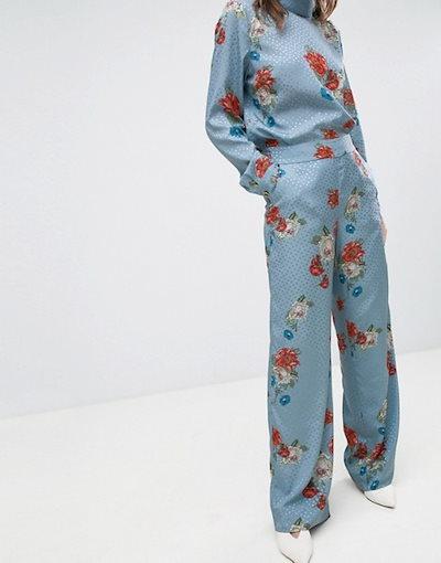ゲタス レディース カジュアルパンツ ボトムス Gestuz Natacha Floral Print Pants