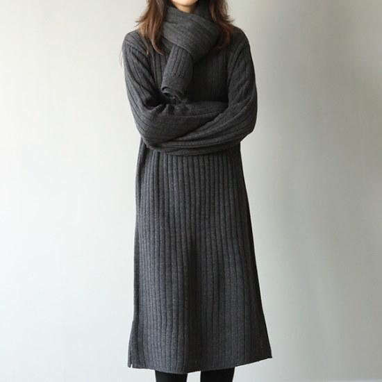 ビナインツインワンピースset 綿ワンピース/ 韓国ファッション