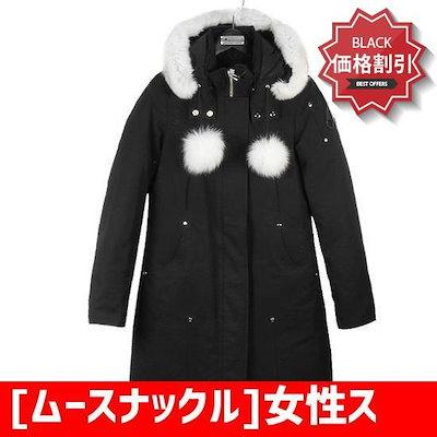 [ムースナックル]女性スティルリン・パーカSTIRLING MK2003LP 290 BLACK[MKC22 /ソリッド/無地Tシャツ/ Tシャツ/韓国ファッション/