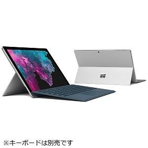 Surface Pro 6 KJT-00014 [プラチナ]