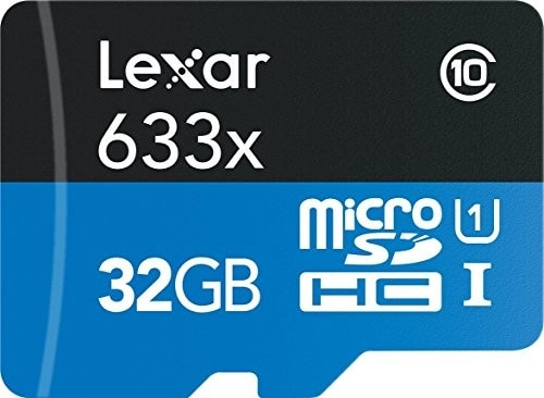Lexar 95MB/s 633x Micro SD 128g Class 10 card 32g 64GB micro SDXC Memory sd Card adapter UHS-1 for D