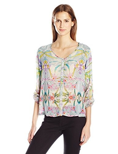 Johnny Was Womens Lily Jacket, Multi, Large