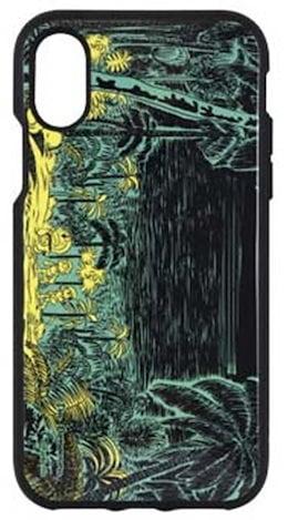 08085d0226 I m doraemon IIIIfi+(R) iPhoneX対応ケース ジャングル IDR-15B