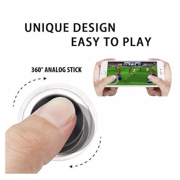 Mobile Joystick モバイル ジョイ スティック 吸盤 コントローラー ゲーム スマホ アイフォン 格闘 アクション シューティング