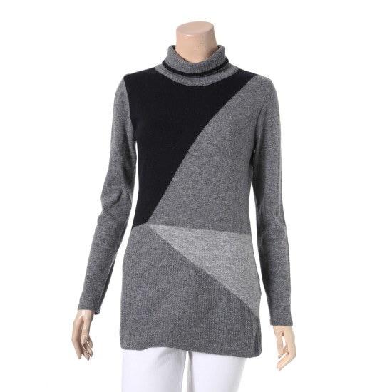 のクロコダイル・レディーニットCL6WSW106GY ニット/セーター/ニット/韓国ファッション