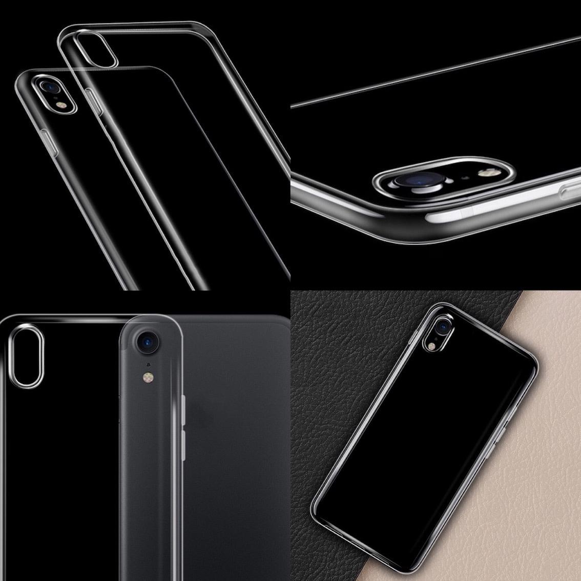 【送料無料】 iPhone X 8 8Plus スマホケース ケース クリア シリコン アイフォン テン エックス 衝撃 0000310