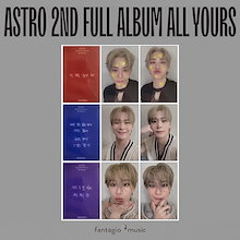 ASTRO (アストロ) 正規 2集 アルバム - All Yours [Moonbin Message Card Photocard (フォトカード)]