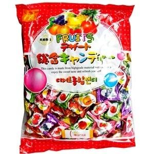 【Hantosi韓国お菓子】 フルーツキャンディ・中(320g) ★賞味期限2021年3月10日迄