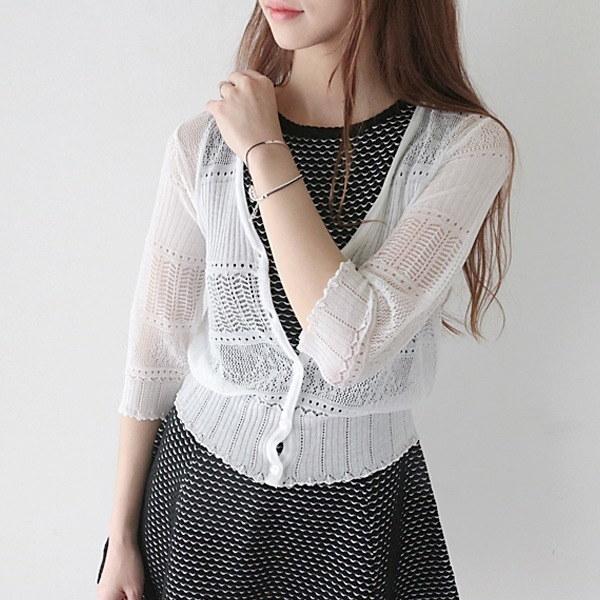 マドレーヌスカジーカディゴン 女性ニット/カーディガン/韓国ファッション