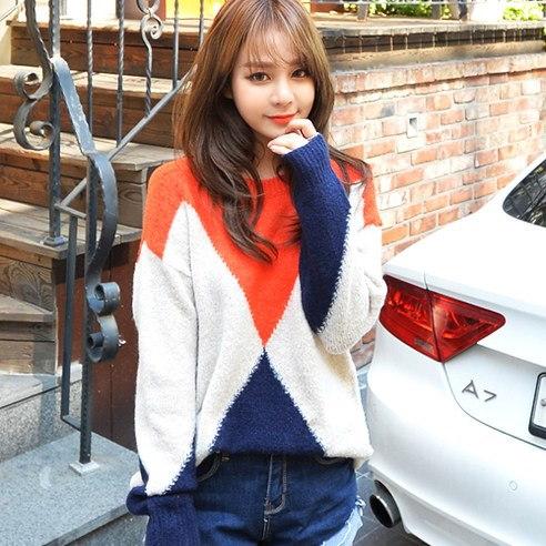 【Deepny]女性の運命の道長袖カットソーkorean fashion style