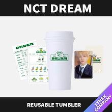 【当店追加特典】【バージョン選択】NCT DREAM-REUSABLE TUMBLER- Café 7 DREAM/公式グッズ/SMストア