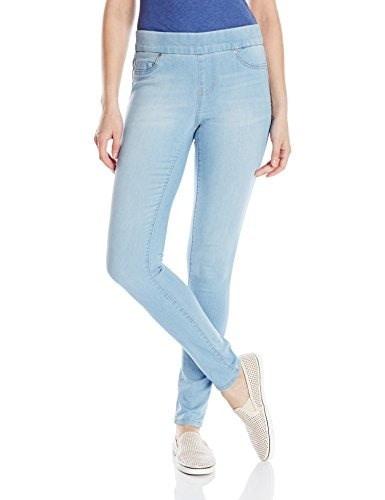 Liverpool Jeans Company Womens Sienna Pull-On Silky Soft Denim Skinny Jean Legging, Delton Light Blue, 8