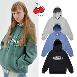 🍒KIRSH🍒韓国🍒KIRSH CIRCLE LOGO HOODIE🍒Kファッション20SS新作🍒キルシーパーカー🍒オーバーサイズ