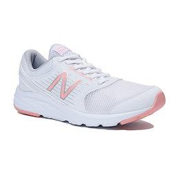 ニューバランス newbalance 【セール】 レディース ランニング シューズ NB W411 CW1 D ホワイト/ピンク