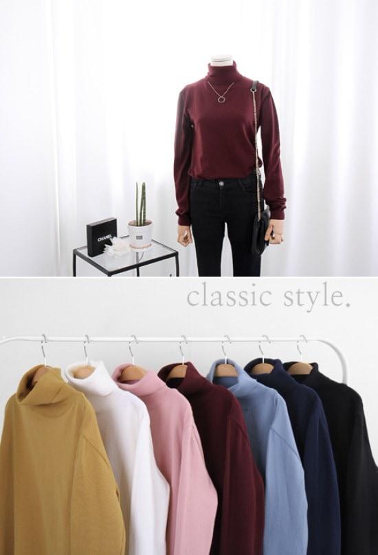 スタジオホワイト小路ポルラネクニートCCC26S492 / ニット/セーター/タートルネック/ポーラーニット/韓国ファッション