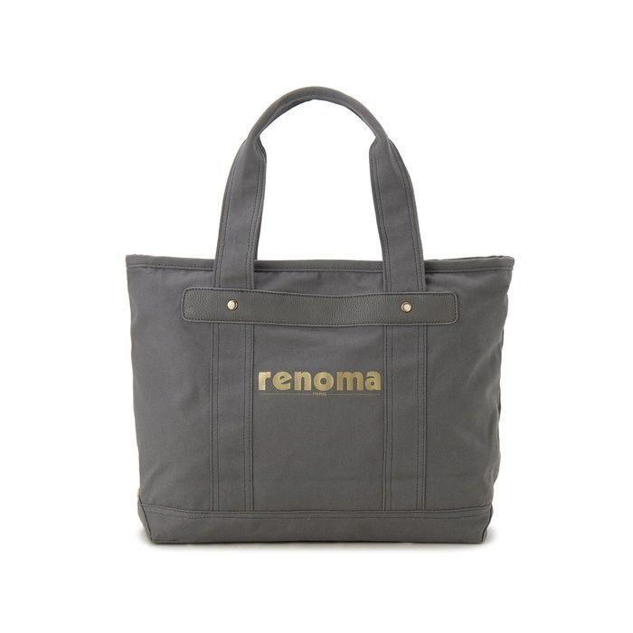 renoma レノマ トートバッグ 1505006-03513 キャンバス 1WAYバッグ グレー【送料無料】