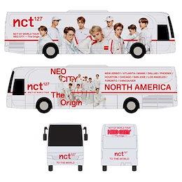 NCT 127 MINIATURE NEO CITY TOUR BUS  米州ツアー  バス /フォトカード3枚オプション