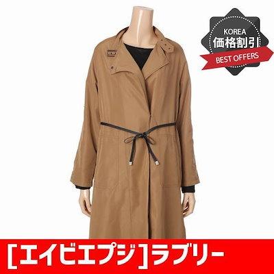 [エイビエプジ]ラブリーライトリボンコートAFR4GR01A /トレンチコート/コート/韓国ファッション